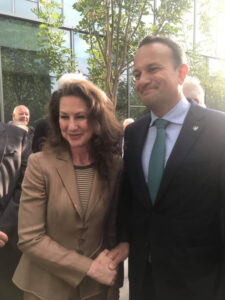 Clo meeting Prime Minister of Ireland, Leo Varadkar