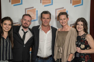 Josh Brolin and Colin Broderick, Clodagh Bowyer & Irish TV
