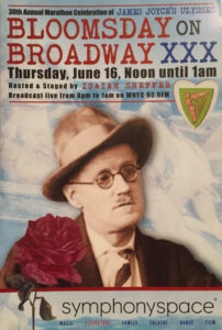 Bloomsday on Broadway Program