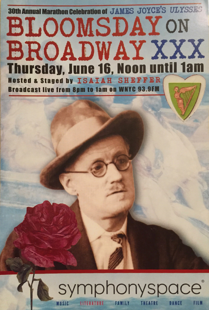 """Bloomsday on Broadway"""